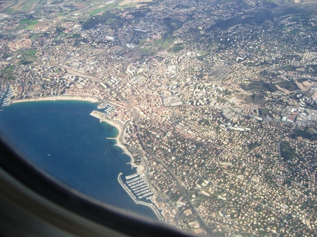 CIMG6177 Fréjus-St.Raphaël-from-Niceflight