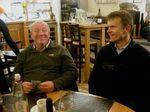 IMG 4123 Phil,Jukka in Le Chrono-restaurant